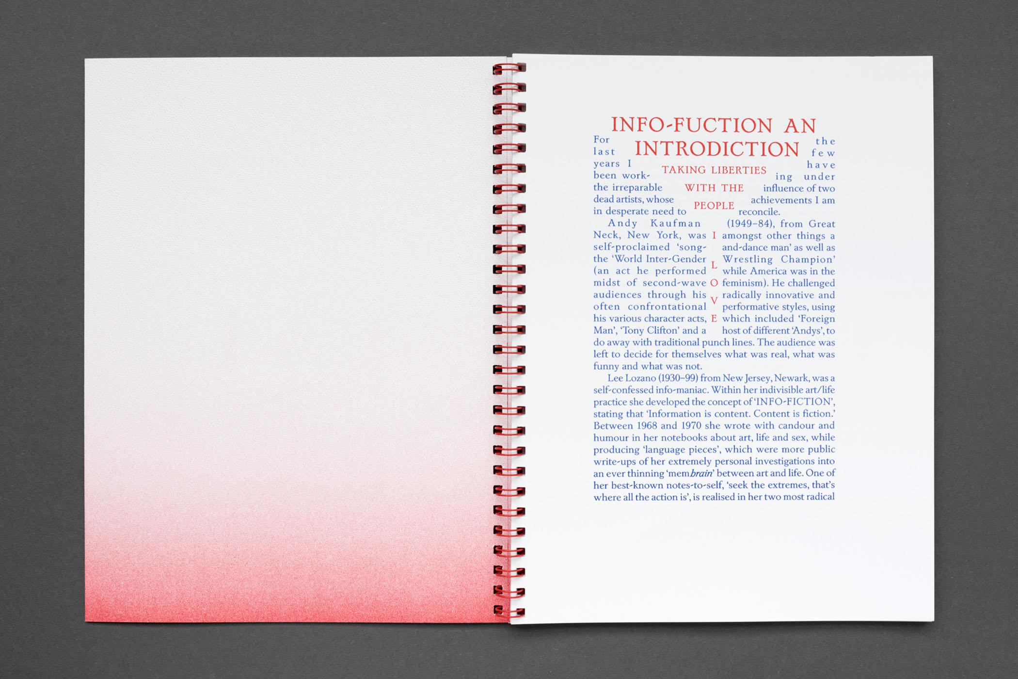 Kasia Fudakowski: Infofuction